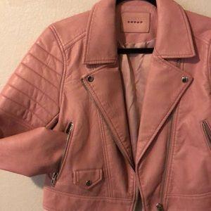 NWOT Blank NYC Vegan Leather Jacket